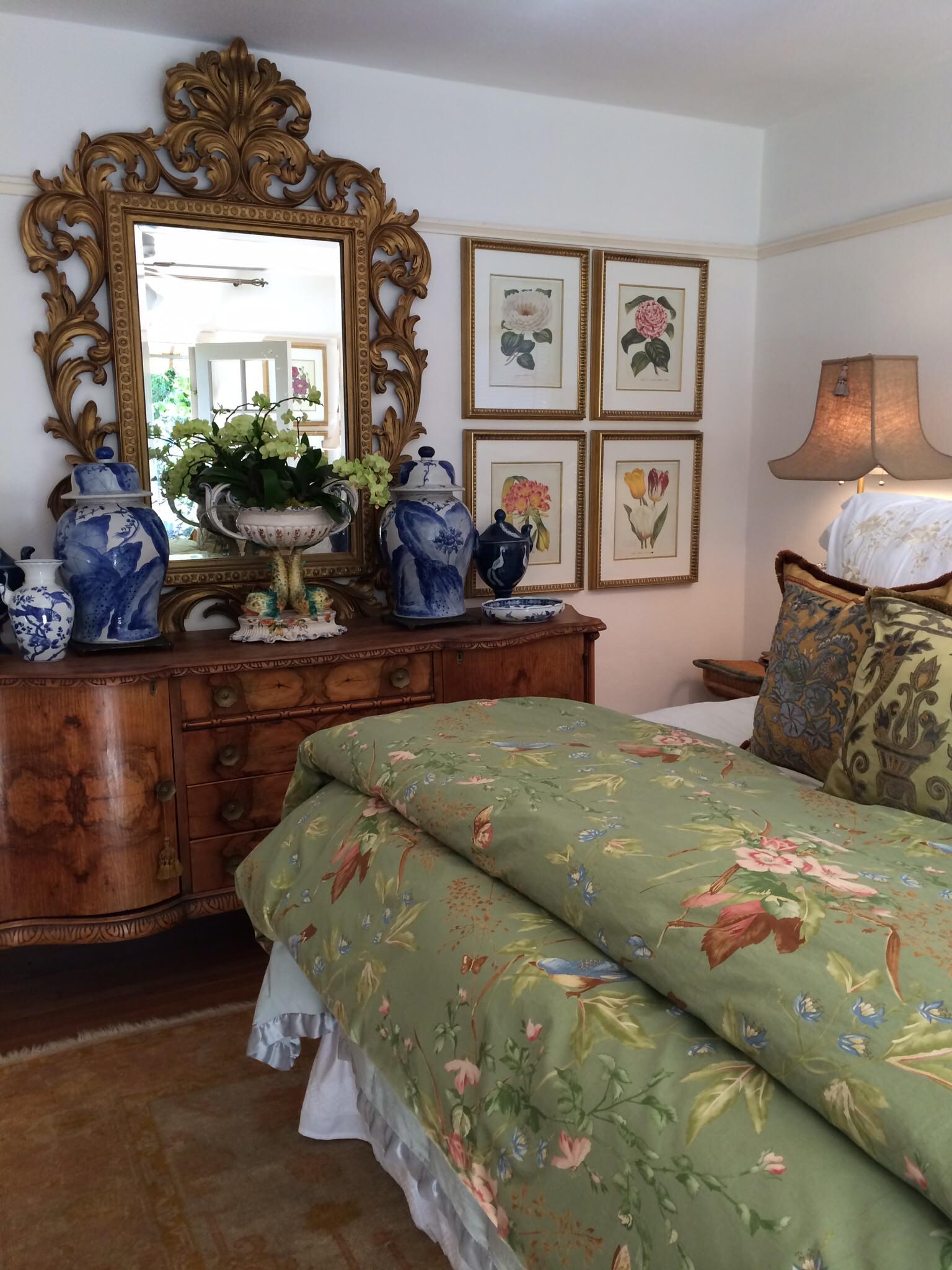Romantic Chinoiserie Master Bedroom