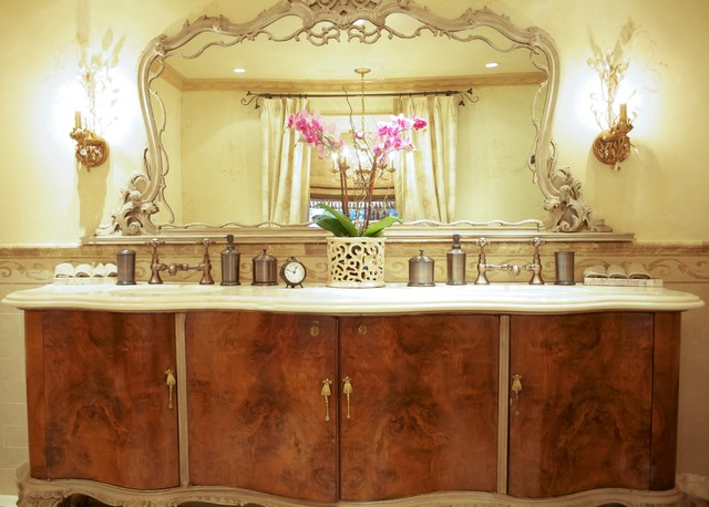 Romantic Master Bathroom