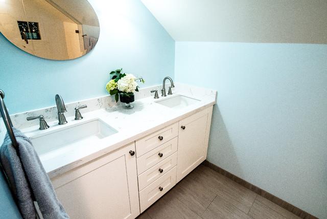 Room addition yeschick santa ana classique chic - Salle de bain classique chic ...