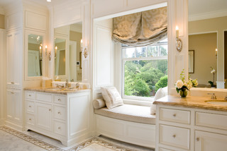 Room with a view traditional bathroom san francisco for Bathroom decor midland