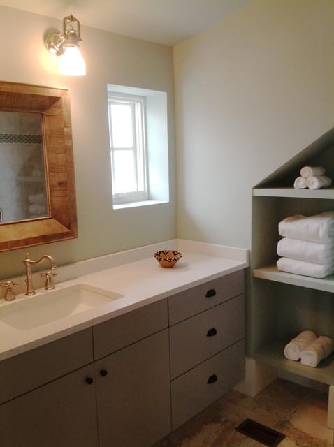 Rosemary Beach Condo beach-style-bathroom
