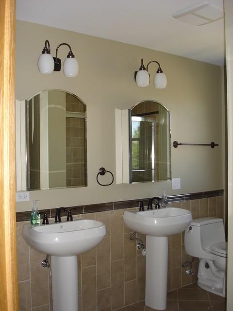 Rosemont addition/remodel contemporary-bathroom