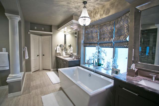 Rosevale Master Suite transitional-bathroom