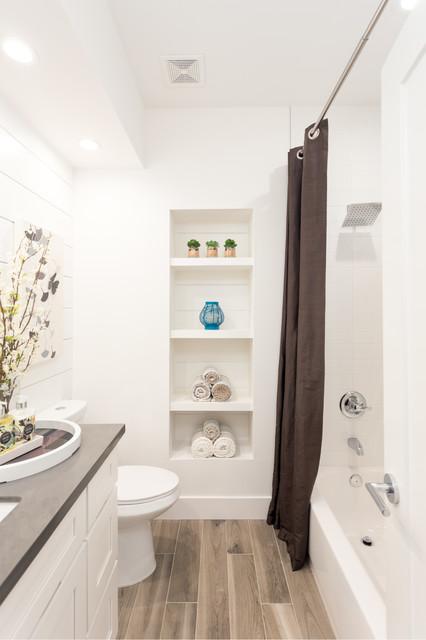 Roseville Transitional Bathroom Sacramento By Novoya Design - Bathroom remodel roseville