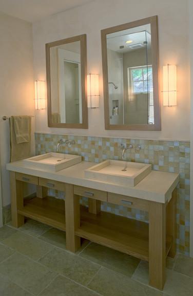 Thompson Lodge contemporary-bathroom