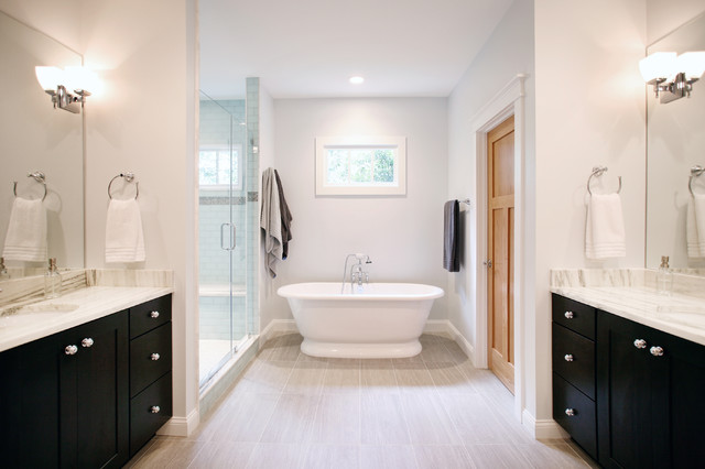 Roswell 2nd Story Addition Master Bedroom Bathroom Traditional Bathroom Atlanta By