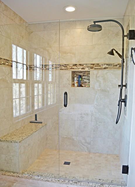 Roswell Ga Master Bath Partial Kitchen Remodel Contemporary Bathroom Atlanta By