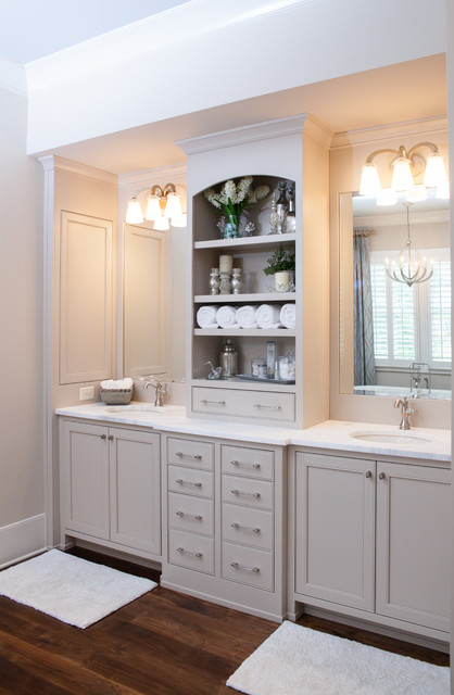 Roswell Home - Farmhouse - Bathroom - atlanta - by Keystone Millworks Inc