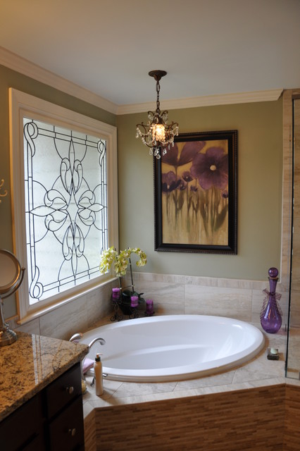 Roswell - Kitchen and Master Bath Renovation traditional-bathroom