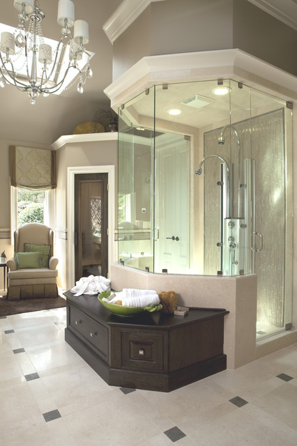 Roswell Women's Showhouse - Traditional - Bathroom ...