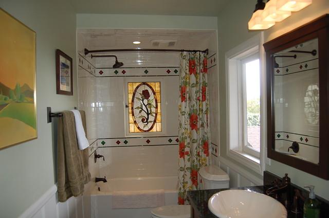 Rounsevel Terrace traditional-bathroom