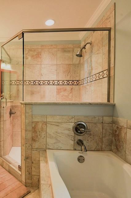 Royal Way Master Bath Transitional Bathroom
