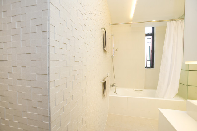 Amazing Contemporary Bathroom By Clifton Leung Design Workshop Cldwcomhk. Wall  Texture Ideas ... Part 9