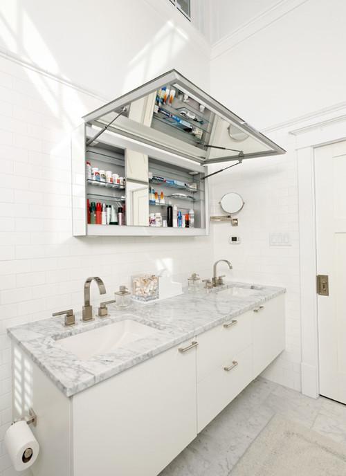 medicine cabinet thats door lift upwards