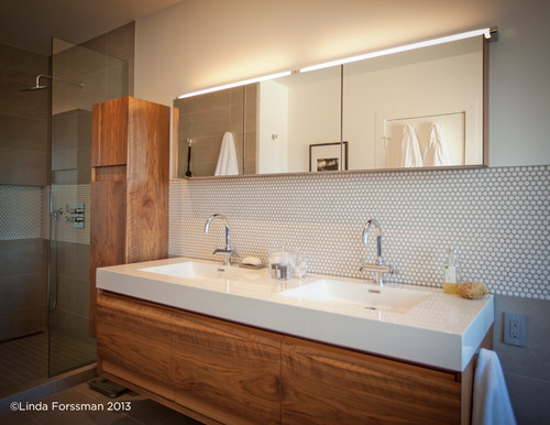 i typed in organic modern bathroom into houzz to me these are really more of an organic contemporary as modern may not technically be accurate in the - Modern Bathrooms Houzz