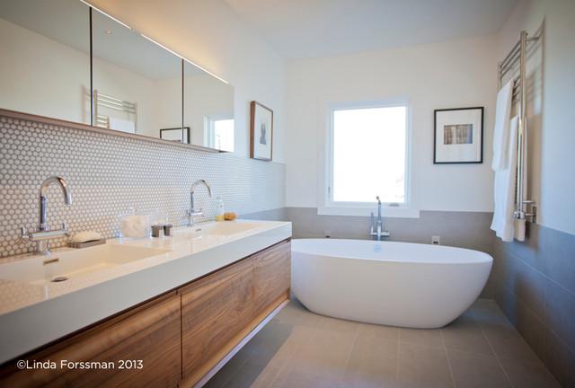 Russian Hill Organic Bath Modern Bathroom San Francisco By Bespoke Construction