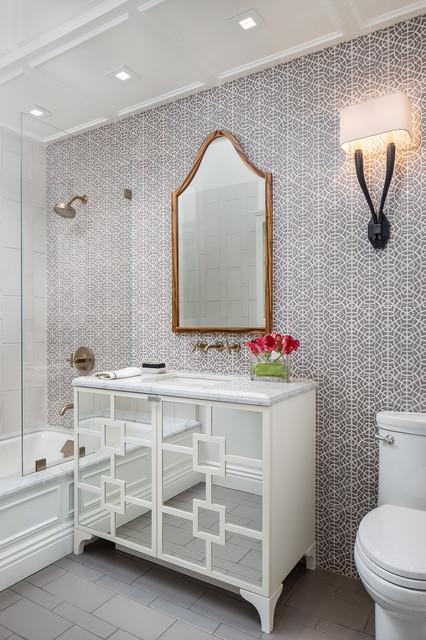 Russian Hills traditional-bathroom