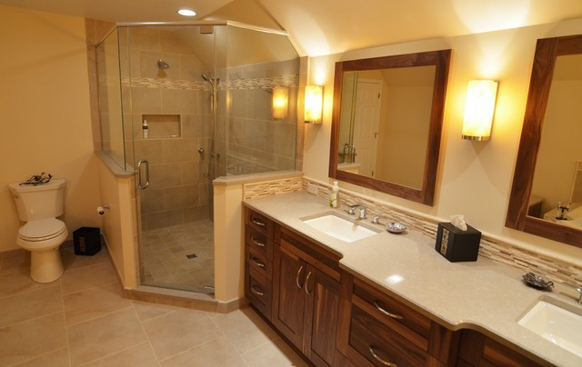 Rustic Bath Retreat traditional-bathroom