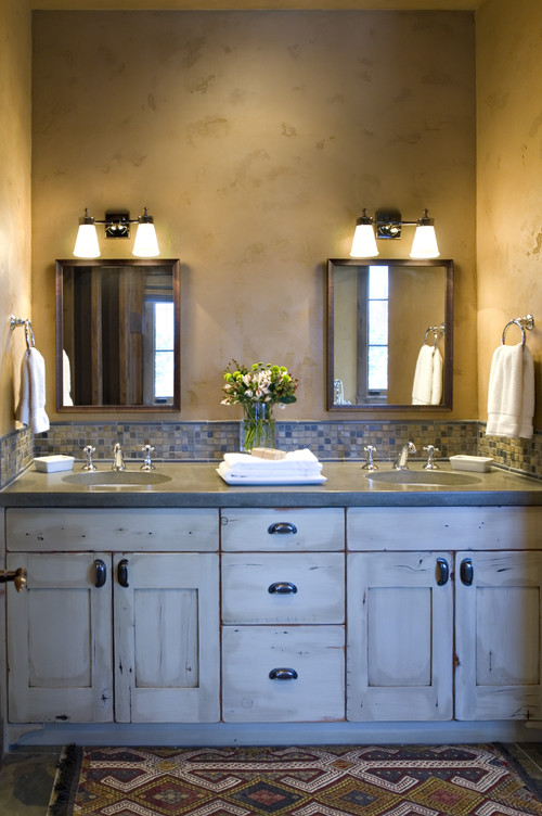 Montana mix eclectic bathroom
