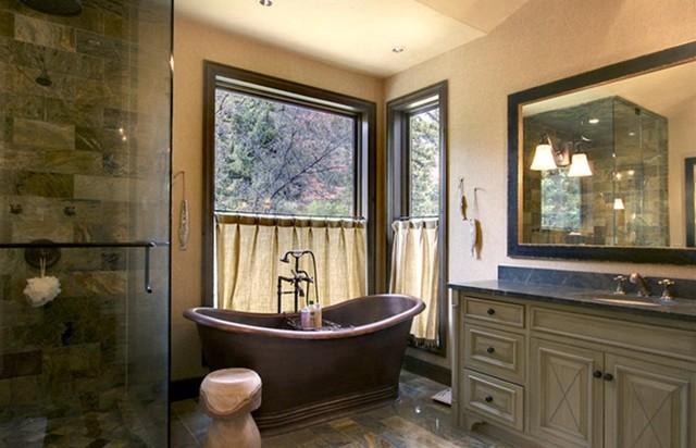Rustic Bathroom rustic-bathroom