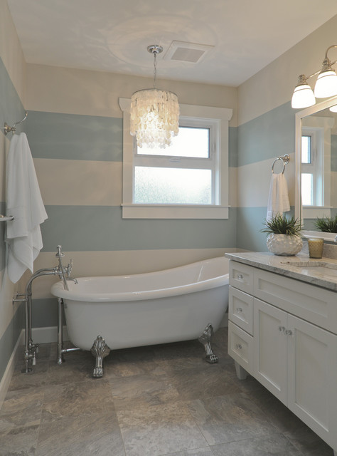 Rustic Chic Rancher Eclectic Bathroom Vancouver By