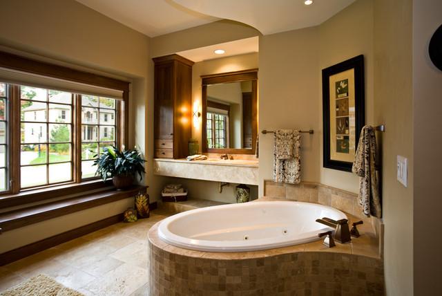 Rustic Comfort eclectic-bathroom