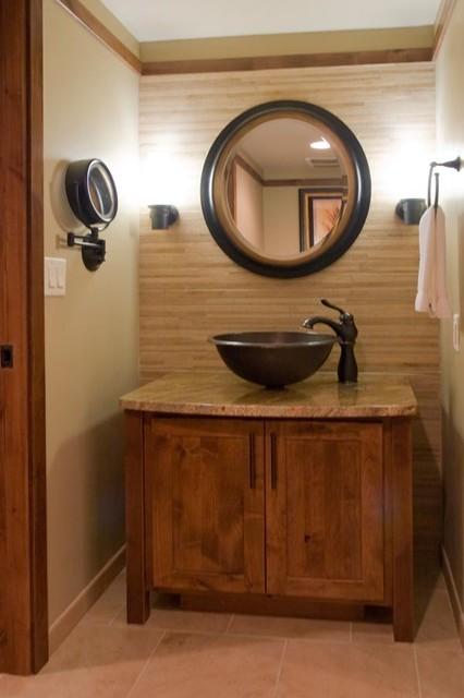 Rustic Contemporary Bathroom