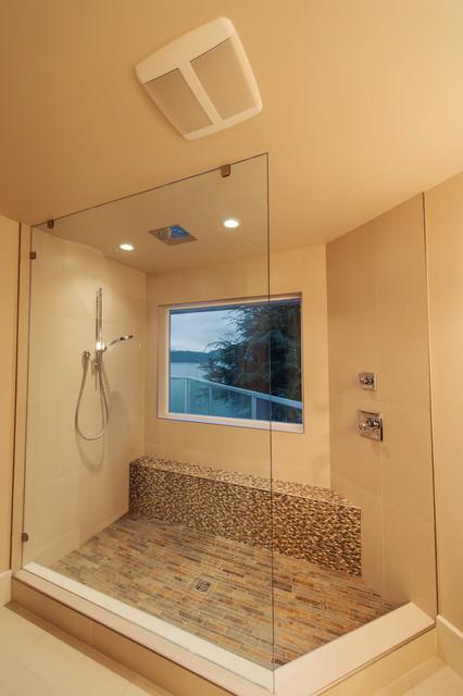 Rustic Contemporary Contemporary Bathroom Vancouver By Denise