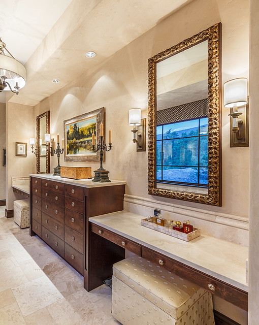Rustic Country French Transitional Bathroom Other By Mantell Hecathorn Builders