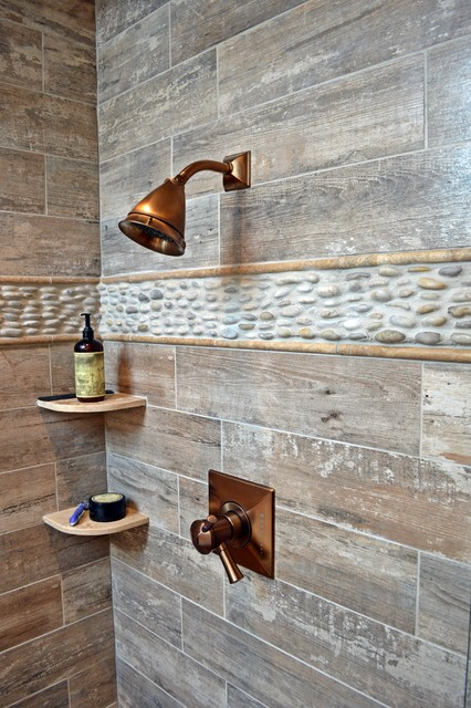 Rustic Designer Bathroom In Golden