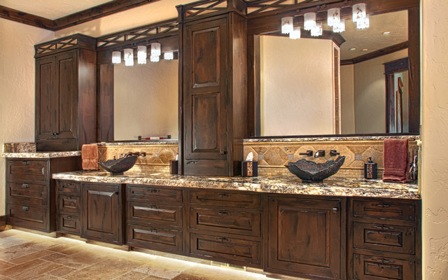 Rustic Elegance - Rustic - Bathroom - Other - by Huntwood ... - photo#37