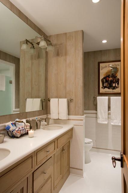 Rustic Elegance Rustic Bathroom By Rocky Mountain