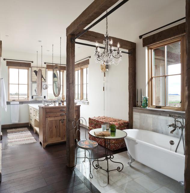 Rustic Farm House Bathroom Denver By Haley