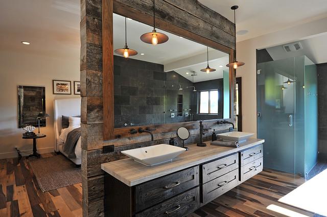 Rustic Glamour - Rustic - Bathroom - Los Angeles - by JRP