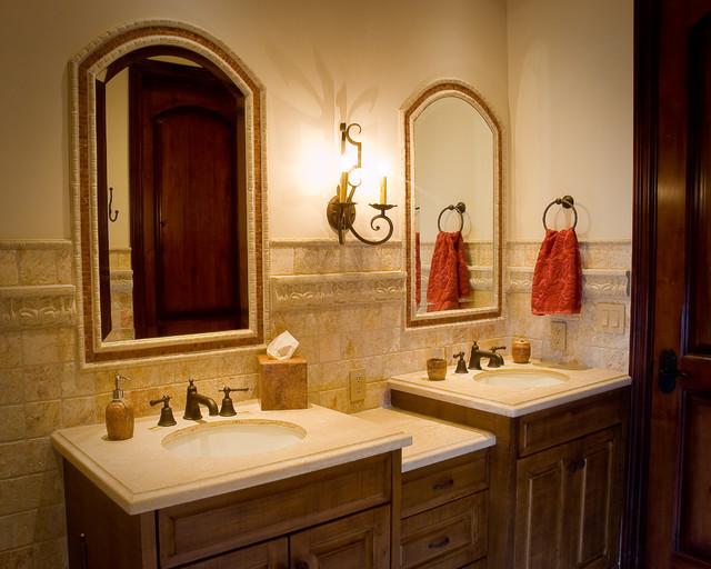 Rustic Guest Bathroom traditional-bathroom