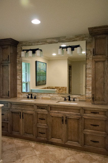 Rustic Master Bath Rustic Bathroom Nashville By Hermitage Kitchen Design Gallery