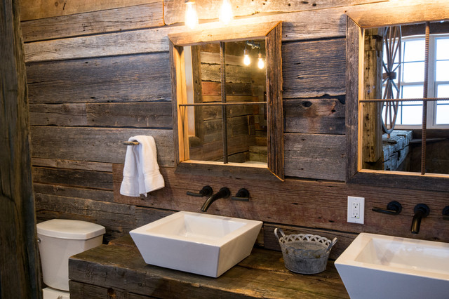 Rustic master bath for Rustic master bathroom designs