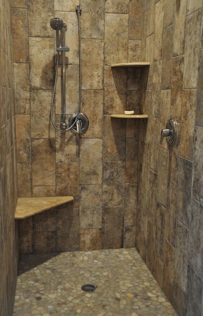 Rustic Meets Contemporary Rustic Bathroom Milwaukee