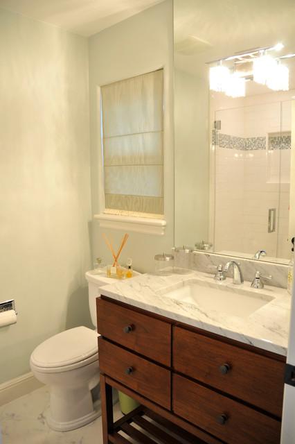 Rustic Meets Elegant transitional-bathroom