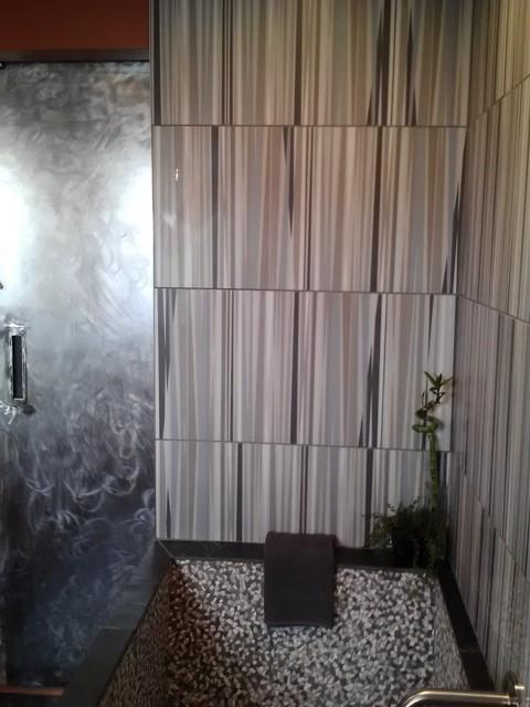 Rustic Modern Bath eclectic-bathroom