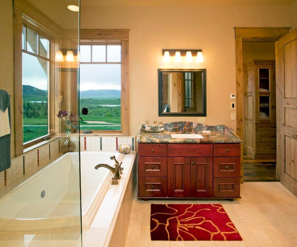 Rustic Modern - Traditional - Bathroom - Denver - by ...