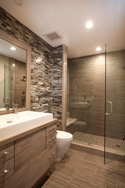 RUSTIC MODERN Modern Bathroom Orange County By JULIE LAUGHTON