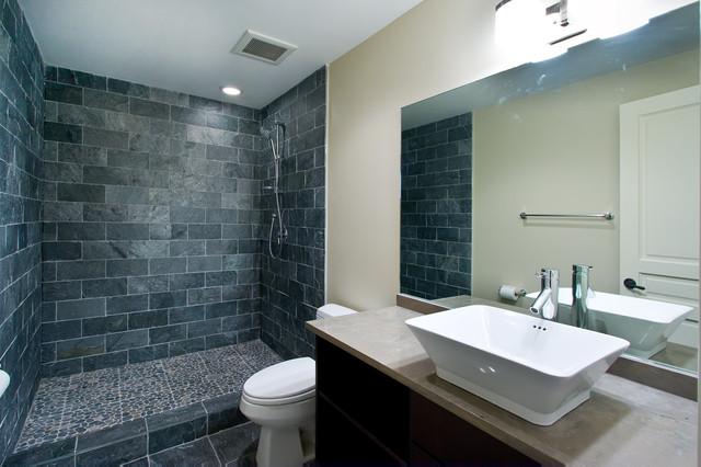 Rustic Modern Contemporary Bathroom