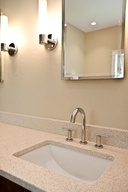 Rustic Montana Barn - Modern - Bathroom - Other - by Penny Lane Home Builders, LLC