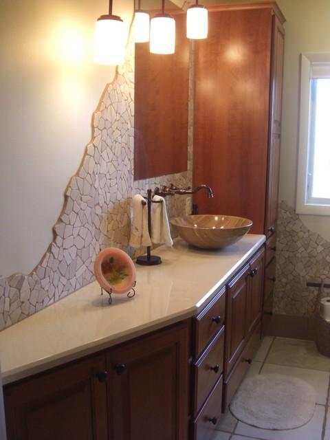 Rustic Retreat traditional-bathroom