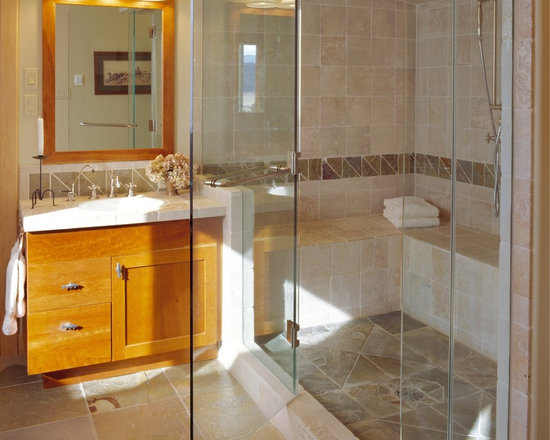 Sit Down Shower Bathroom Design Ideas, Pictures, Remodel & Decor