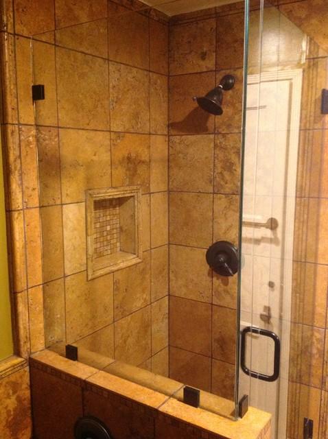 Rustic Shower Bathroom Los Angeles By Open