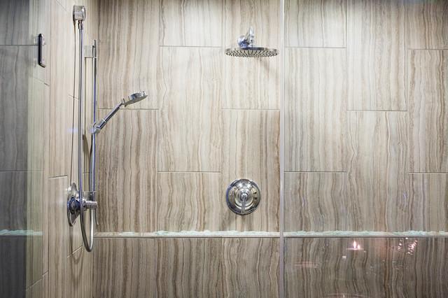 Rustic Spa Retreat Bathroom Modern Bathroom Milwaukee By