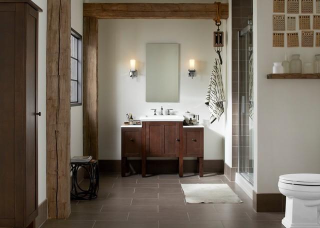 Rustic Wood Bathroom craftsman-bathroom