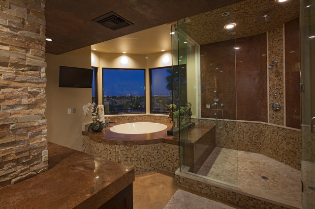 Ruybal Residence Remodel Contemporary Bathroom Las